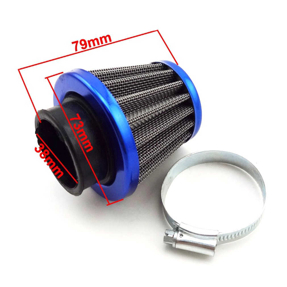 Red 11mm Folding Gear Shifter Lever For 50cc 70cc 90cc 110cc 125cc Pit Dirt Trail Motor Bike SSR Thumpstar Coolster Pitsterpro Stomp Atomik Taotao Kayo Lifan YX TC-Motor 38mm Air Filter Cleaner