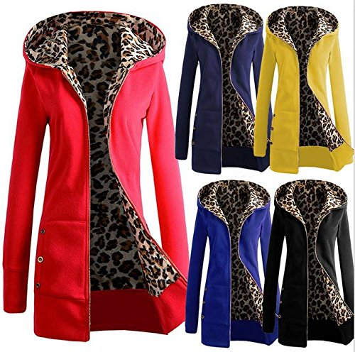 COMVIP Yellow Long Open Women Sweatshirt Front Hoodies Fleece Sleeve Warm rSBrwzxAq
