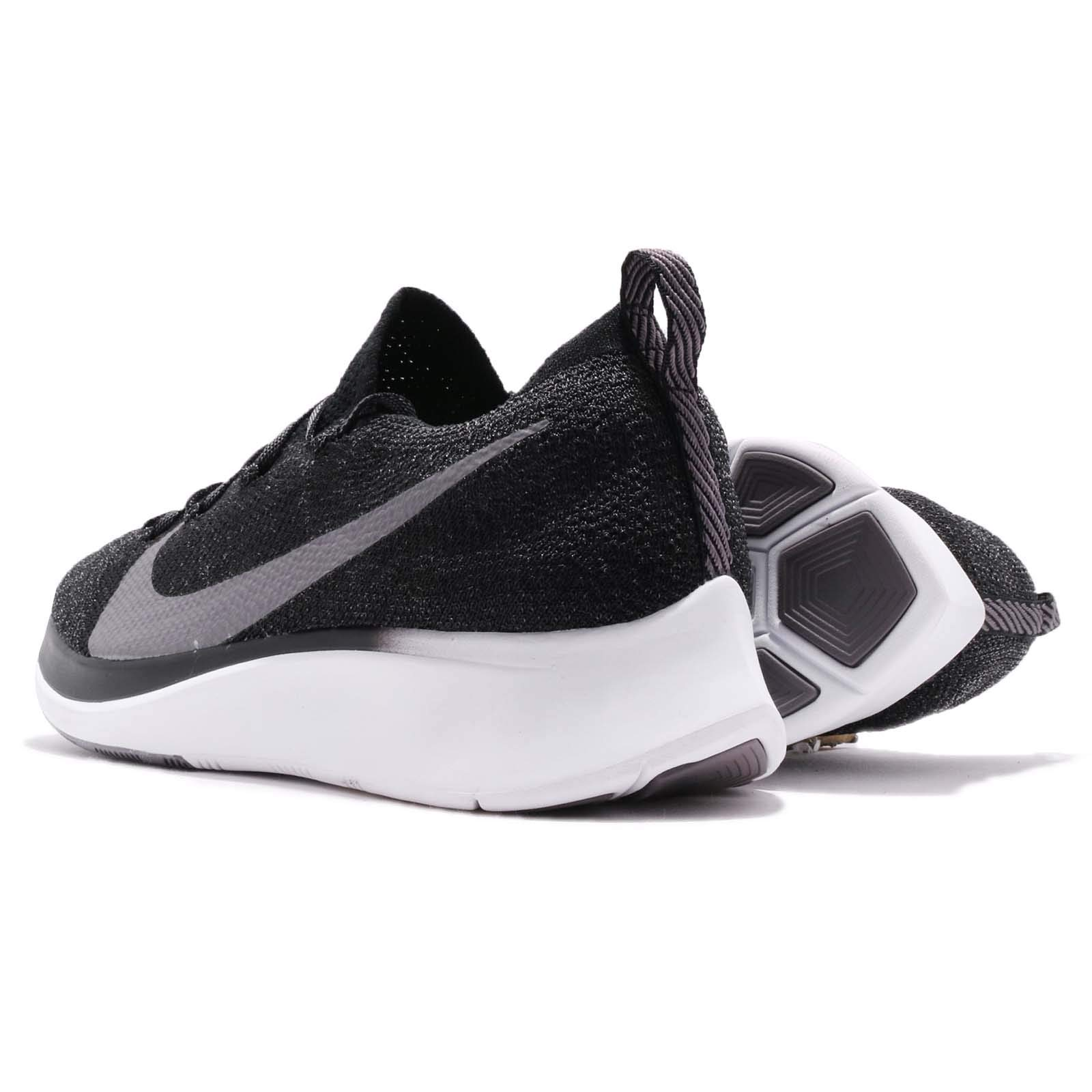 Nike Zoom Fly Flyknit Men's Running Shoe Black/Gunsmoke-White Size 7.5 by Nike (Image #6)