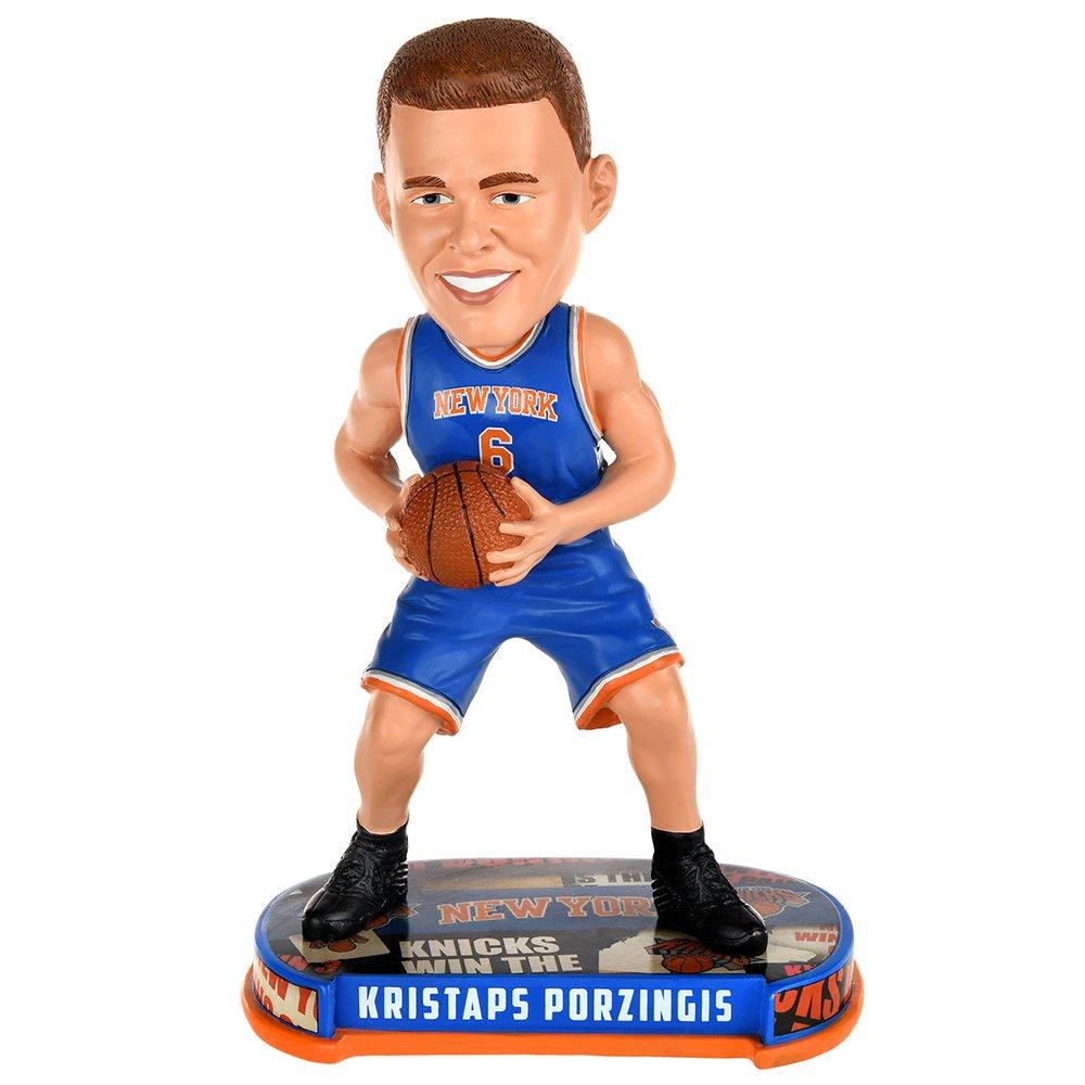 New York Knicks Porzingis K #6 Headline Bobble