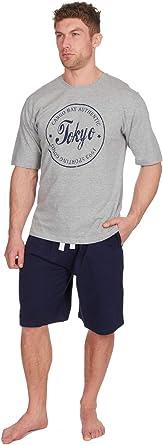Conjunto de pijama corto para hombre