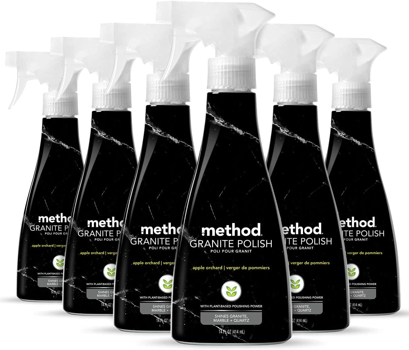 Method Granite Polish, Apple Orchard, 14 Ounces., 6 pack, Packaging May Vary