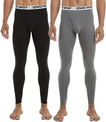 CLOUSPO - Pantalones térmicos para Hombre, Calzoncillos Largos ...