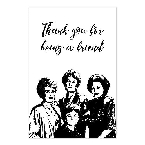 3e6820555d65 Amazon.com: Golden Girls Thank You For Being A Friend TV Show Poster ...