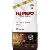 Kimbo coffe extra cream beans 1kg