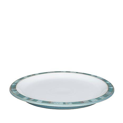 Denby Azure Coast Dinner Plate  sc 1 st  Amazon.com & Amazon.com: Denby Azure Coast Dinner Plate: Kitchen u0026 Dining