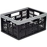 Okt M123615 - Caja plegable 32 l gris-negro