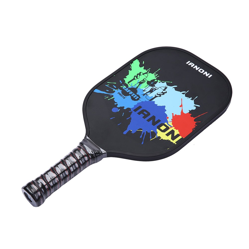 Ianoni Pickleball raqueta, 2pcs Pickle bola Paddle Raquet ...