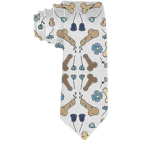 Corbatas de pene de dibujos animados para hombre Corbata de seda ...