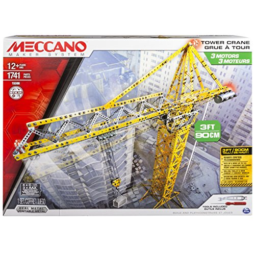 (Meccano  Tower Crane Model Set)
