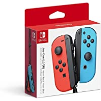 Nintendo Switch Left and Right Joy-Cons - Neon Red and Neon Blue