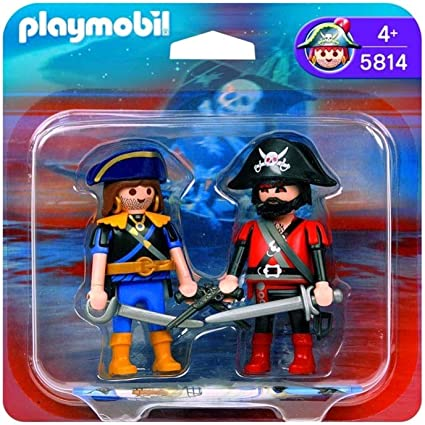 Amazon.com: Playmobil 5814 Pirate & Captain: Toys & Games