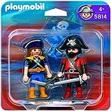 Playmobil - 5814 Duo Pack Pirate and Corsair