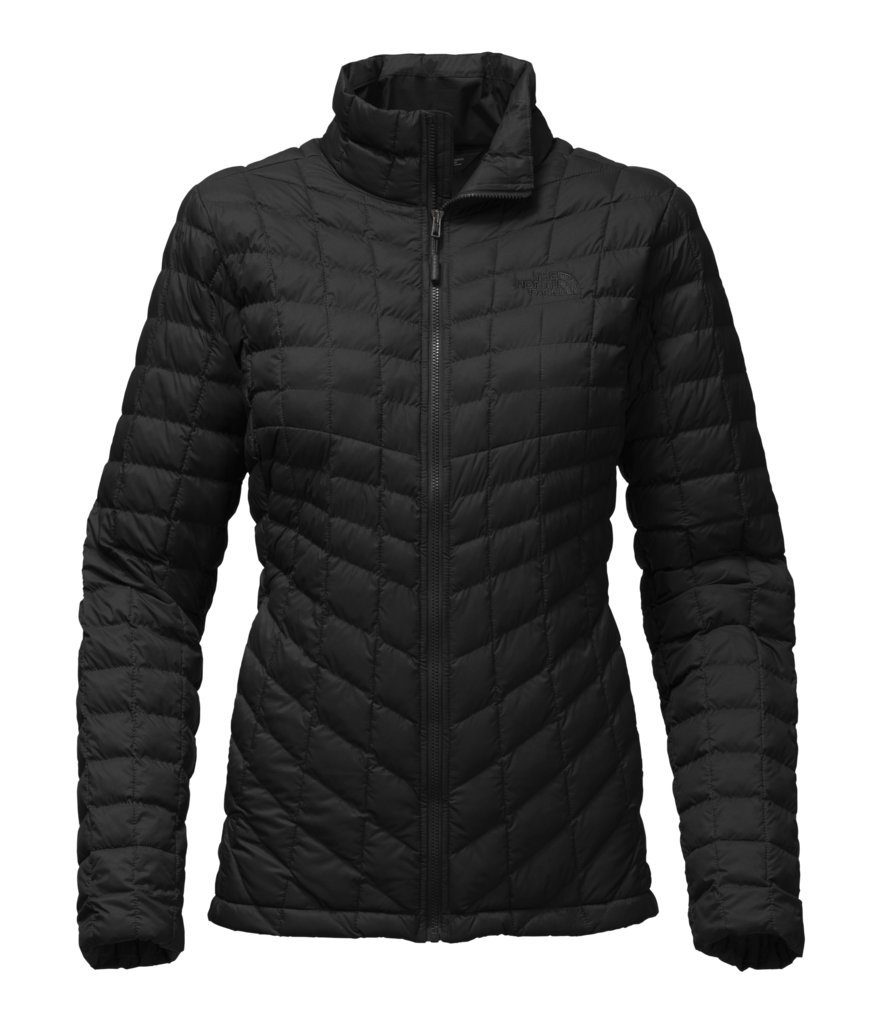The North Face Women's Thermoball Full Zip Jacket TNF Black Matte - XL