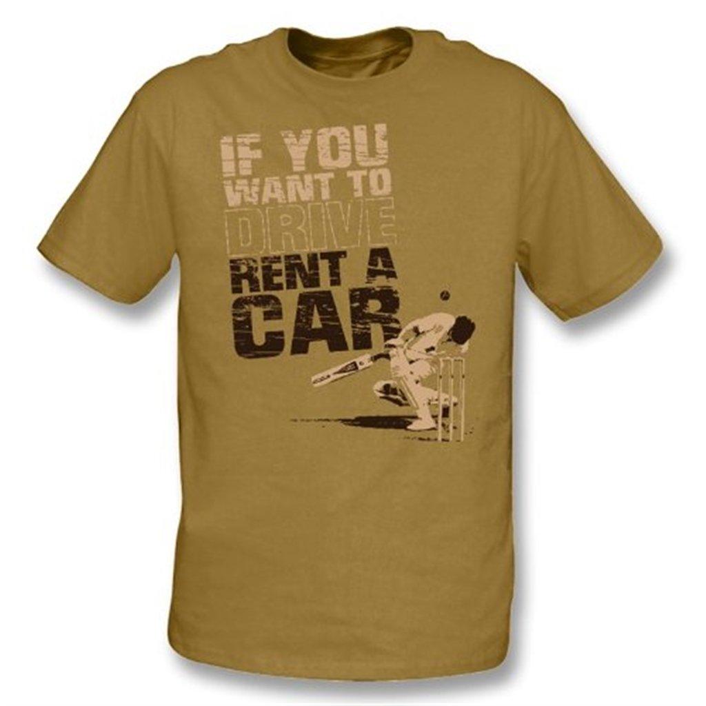Si Si Si usted quiere conducir alquiler una camiseta del coche Xx-Grande, moreno del color 579dfb