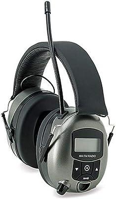 Safety Works MP3/AM/FM Digital Radio Headphones