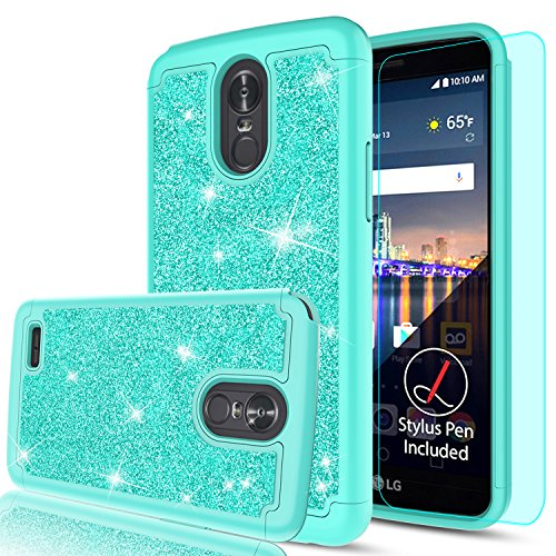 LG Stylo 3 Case,LG Stylo 3 Plus/Stylus 3 Glitter Phone - Import It All