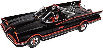 Batmobile Batman Classic Series 1966 mit Licht und Figuren Modellauto 1:18