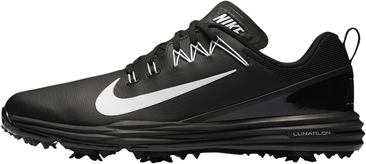 Nike Lunar Command 2 Mens Golf Shoes 849968 Sneakers Trainers ブラック/ホワイト/ブラック 7 D(M) US