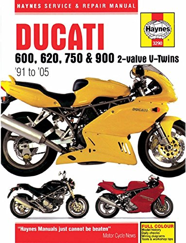 amazon com 1991 2005 ducati monster 600 620 750 900 supersport rh amazon com ducati monster 620 workshop manual ducati monster 620 workshop manual