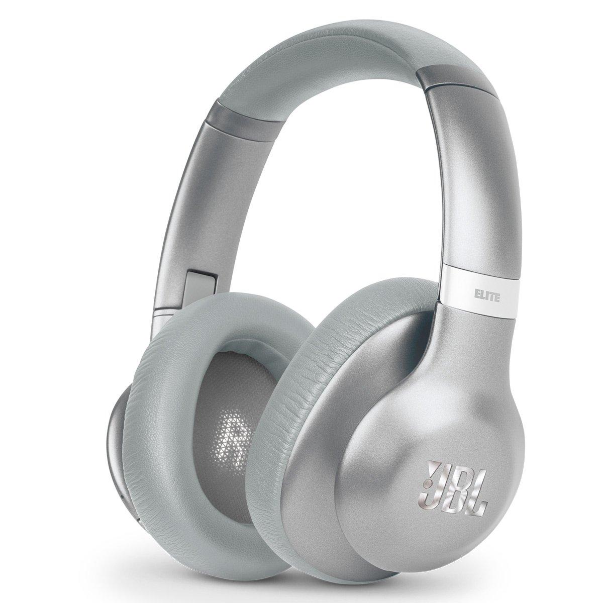 JBL V750NXTSIL Everest Elite 750 NXTGen Wireless Over-Ear NC Headphones (Silver) by JBL