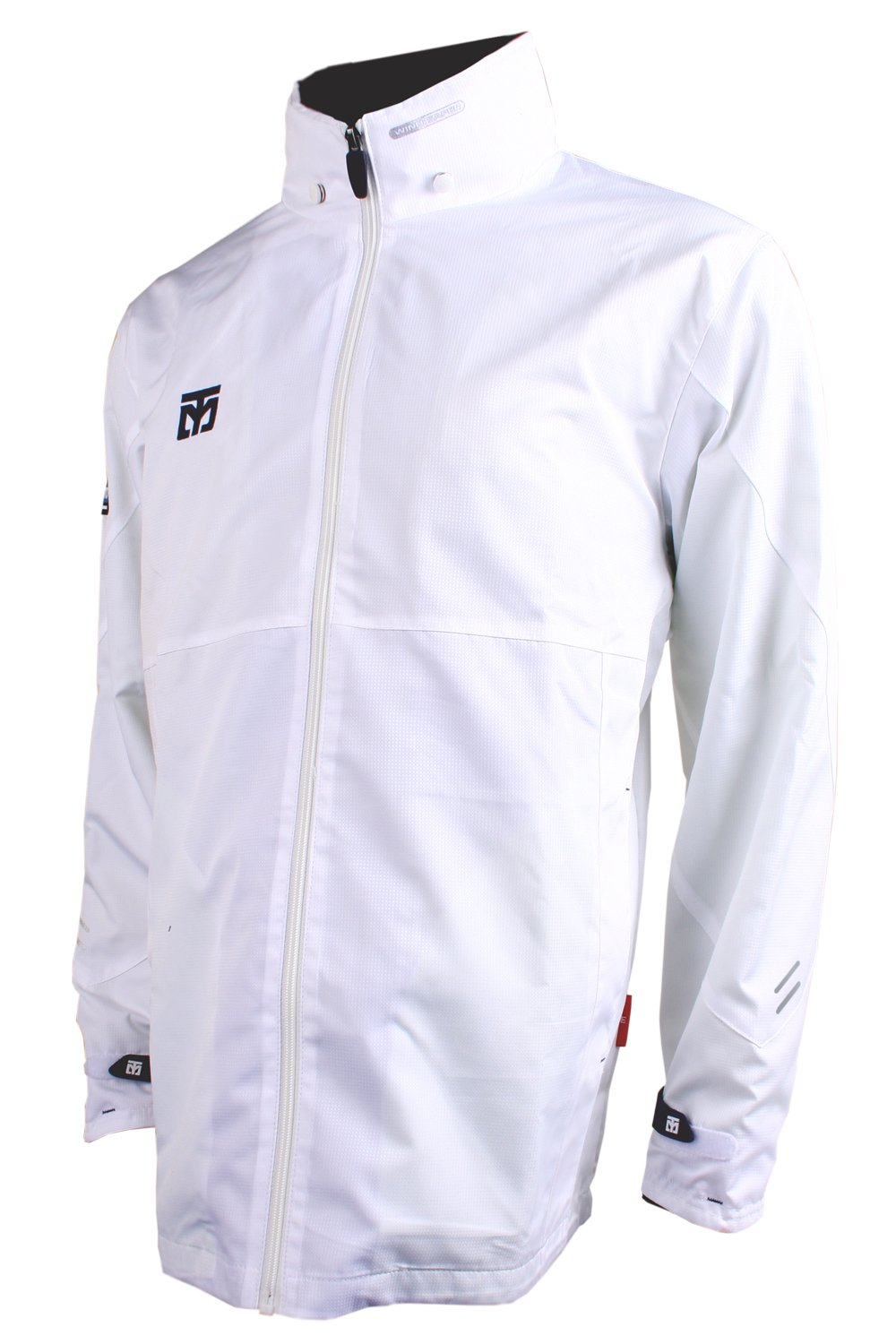 Mooto Wings Wind Breaker 4 Color Jacket Training TaeKwonDo 4.26ft to 6.88ft (White, 160(150cm-160cm or 4.92ft-5.24ft)) by Mooto
