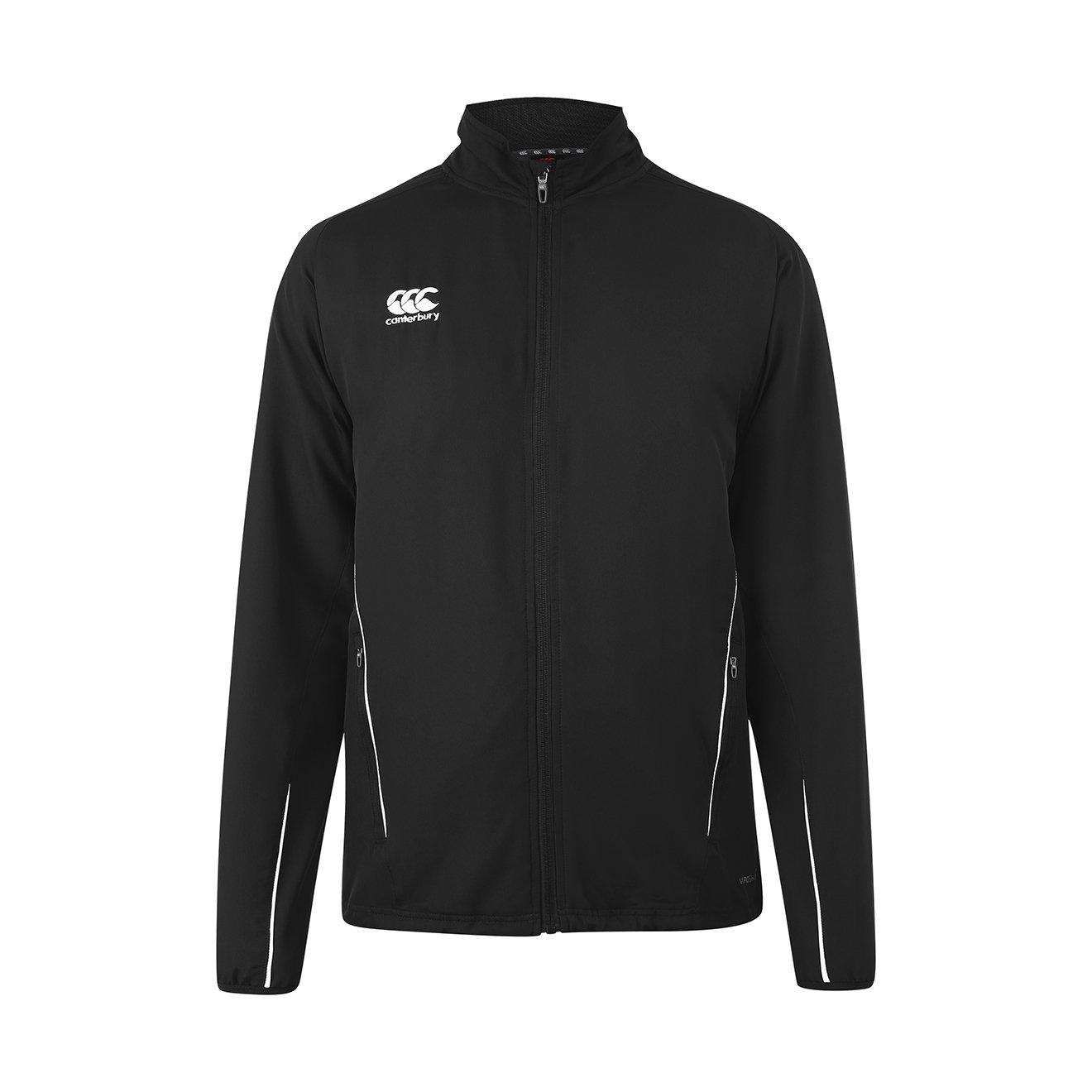 カンタベリーチームトラックジャケット – Senior B01BPJGBMA Small|ブラック/ホワイト ブラック/ホワイト Small
