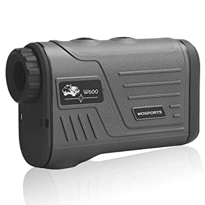 Wosports Golf Rangefinder Laser Hunting Range Finder