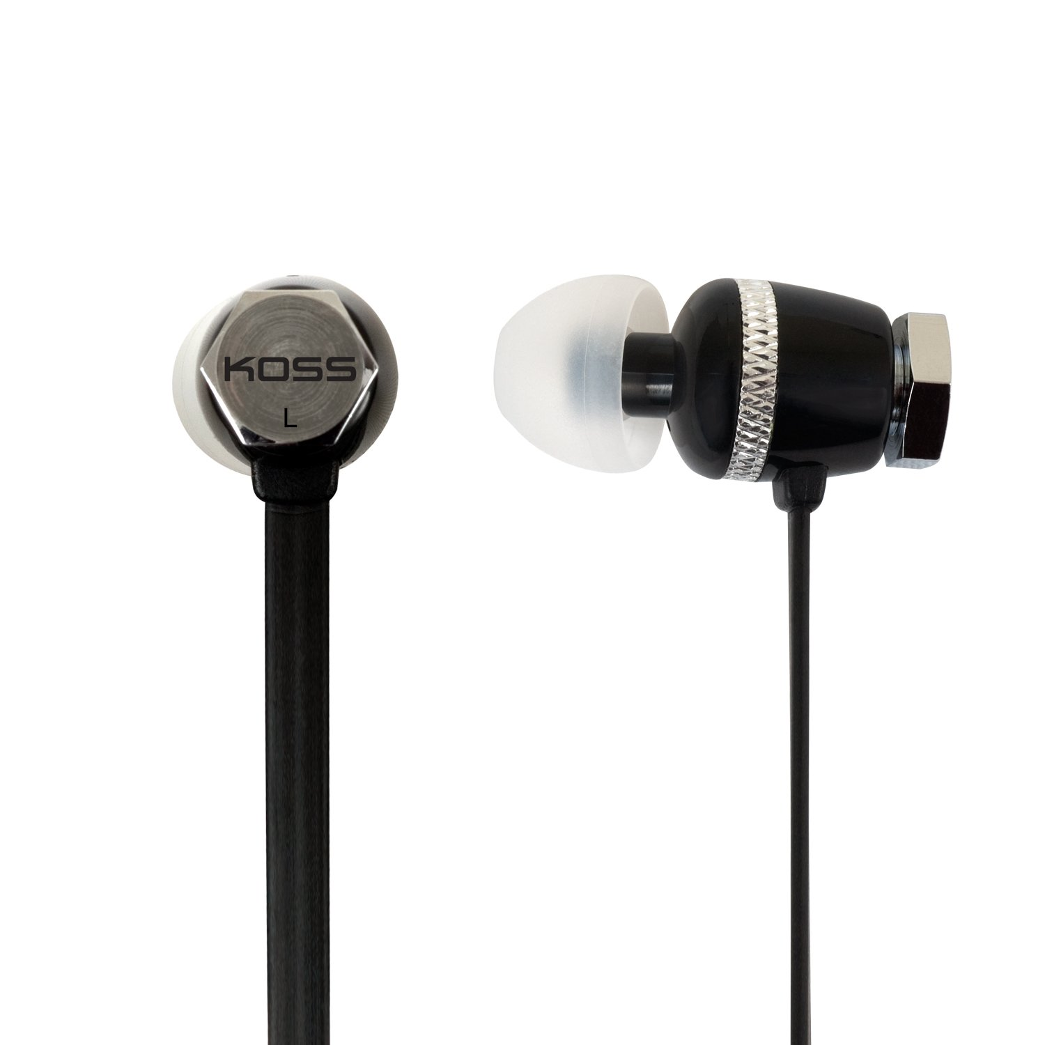 Amazon.com: Koss RUK 30K Noise Isolating In-Ear Stereophone, Black: Home  Audio & Theater