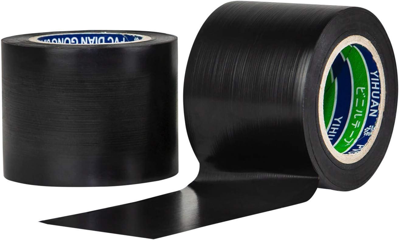Imperm/éable Forte Adh/érence R/ésistant /à L/étirement et Robuste Bleu Ruban Adhesif Electrique 2 PCS Ruban Adh/ésif PVC Isolant 50 mm*20mm