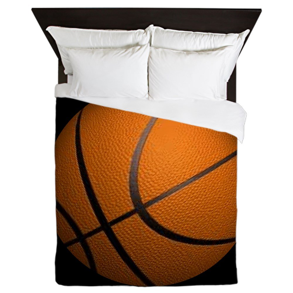CafePress - Basketball Sports - Queen Duvet Cover, Printed Comforter Cover, Unique Bedding, Microfiber