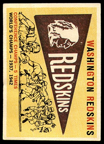 1959 Nfl Football - Football NFL 1959 Topps #168 Redskins Pennant G/VG Good/Very Good Redskins