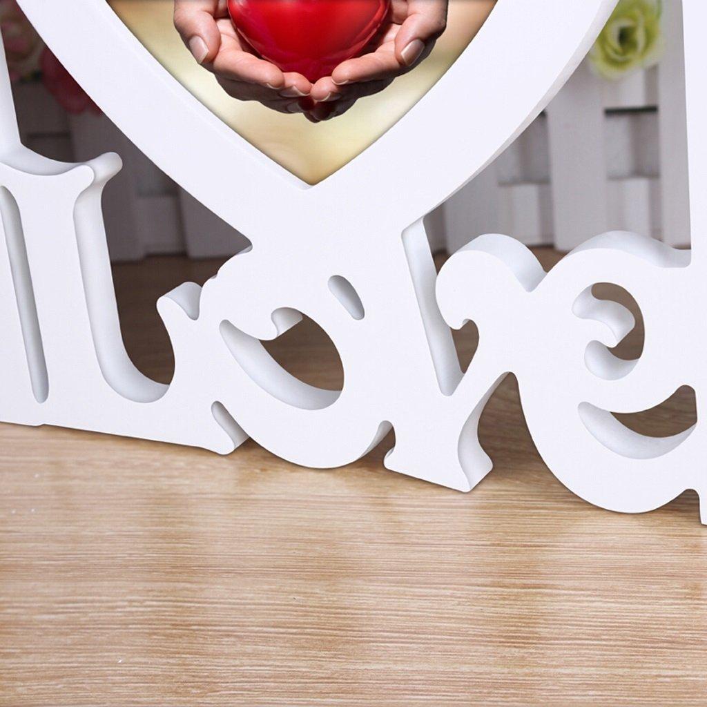 Amazon.de: Europäischen Stil Herzförmige 7-Zoll-romantische ...