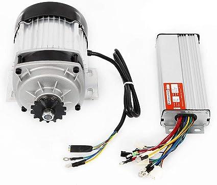Motor eléctrico sin escobillas 48 V 750 W con controlador de ...
