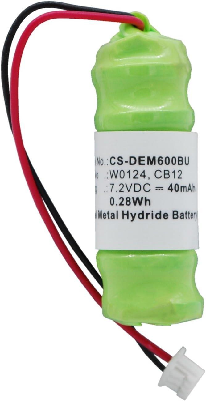 40mAh Replacement for DELL Latitude D800, Latitude D810, Precision M60 Battery, P/N CB12, W0124