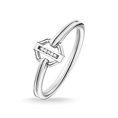 56f0ca6a6c582 Thomas Sabo Women Ring Vintage Silver 925 Sterling Silver D_TR0036 ...