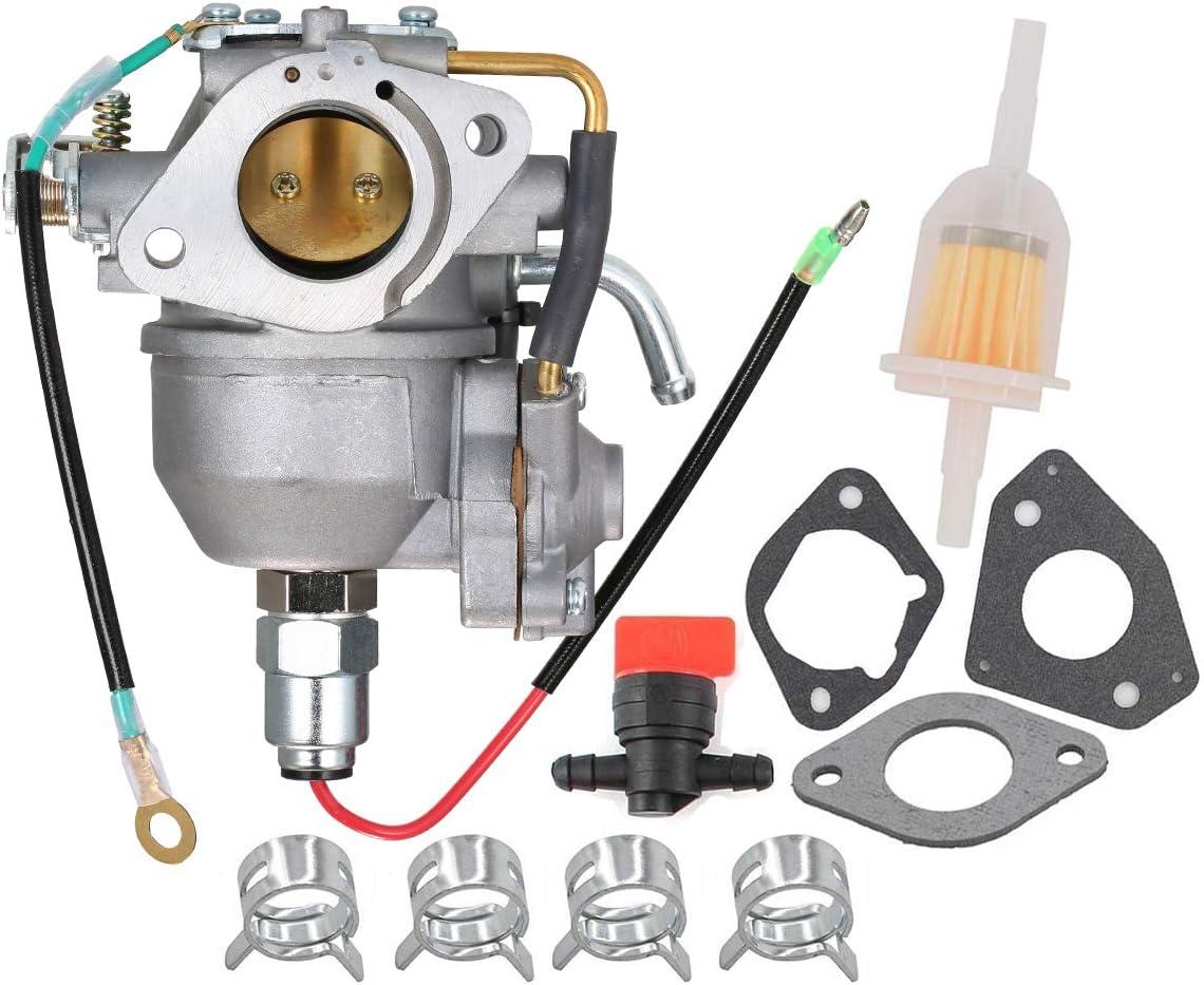 Fuerdi CV730 Carburetor for Kohler CV730 CV730S CV740 CV740S 25HP 27HP Engine Replaces Kohler 24853102-S 24-853-102-S Carb with Gasket Kit