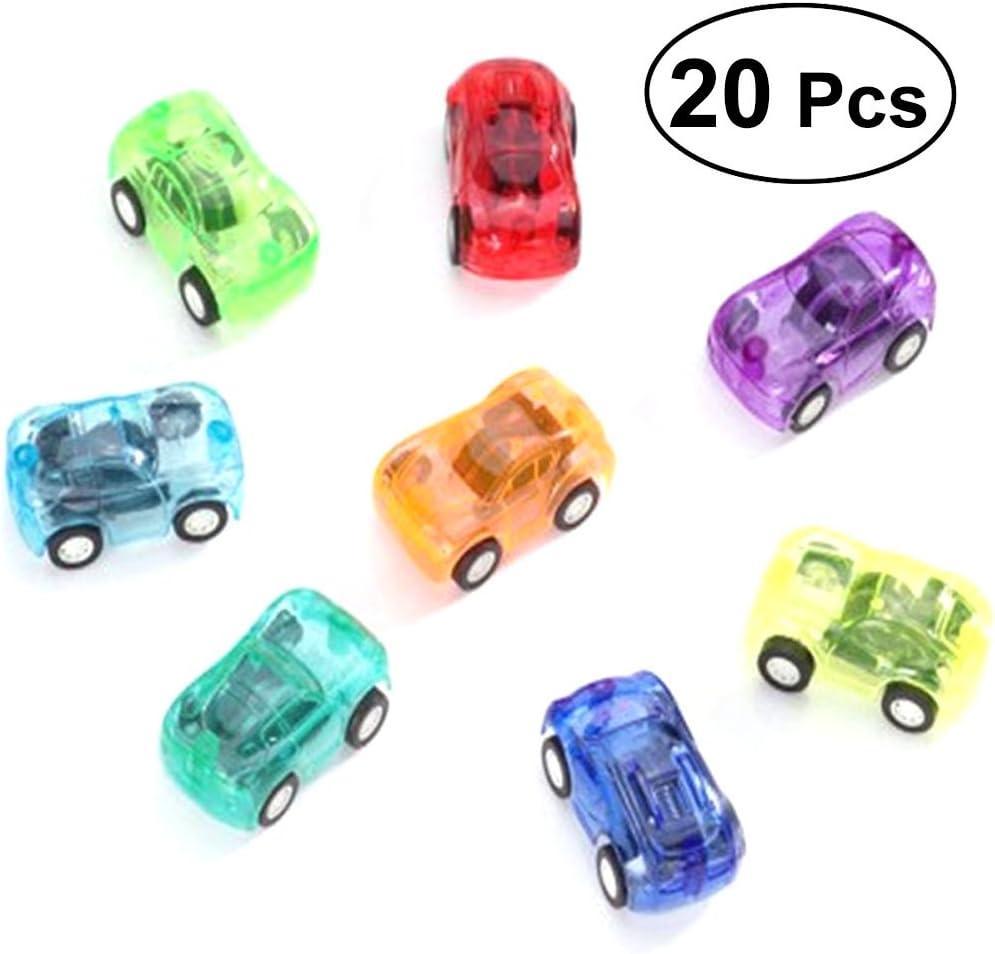 STOBOK 20 stücke Mini Zurückziehen Auto Spielzeug
