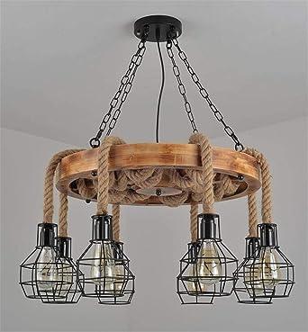 Lámpara de techo Lámpara de araña retro Colgante Vintage ...