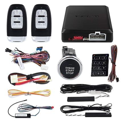 Calidad Easyguard PKE coche sistema de alarma con mechero en ...