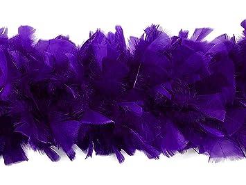 150 Grams Craft//Halloween TURKEY BOA HOT PINK//BLACK MIX 2 Yards Feathers
