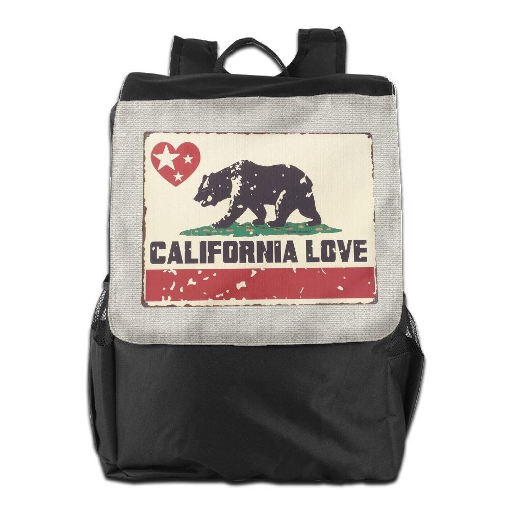 17c3e25b704c Believe Ddspp Bear California Love Star Outdoor Backpack Rucksack ...