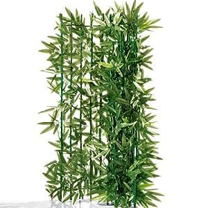 Privacidad Para Balcón bambú–recortable–Verde 3X 1M