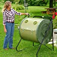 Mantis Compact ComposTumbler CT02001 - Engineered to Make Compost Fast - Holds 88 Gallons - Low Cost per Gallon - Easy-to-Load, Easy-to-Empty with No Bending