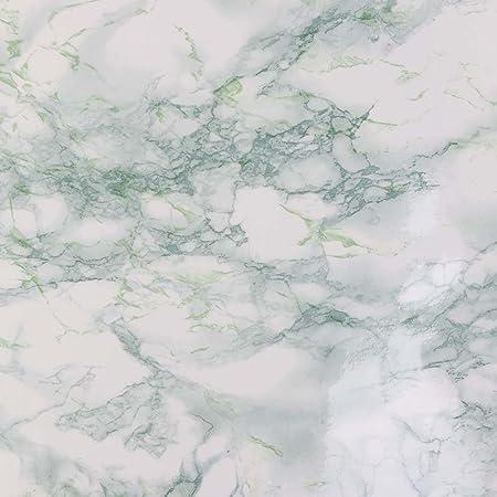Pvc Autoadesivo Adesivi Da Parete Di Marmo Giada Sfondo Bianco