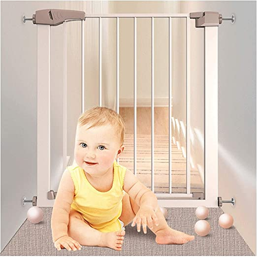 Puerta De Bebé Barandillas De Escalera For Niños Protector De ...
