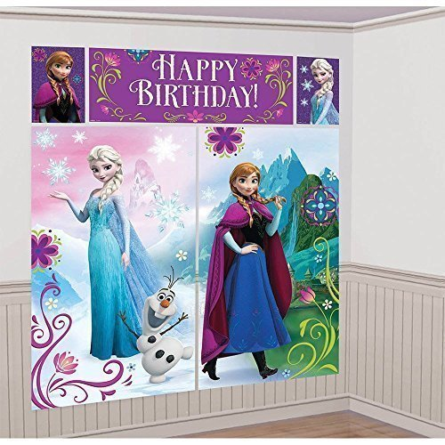 Disney Frozen Scene Setter Decorations