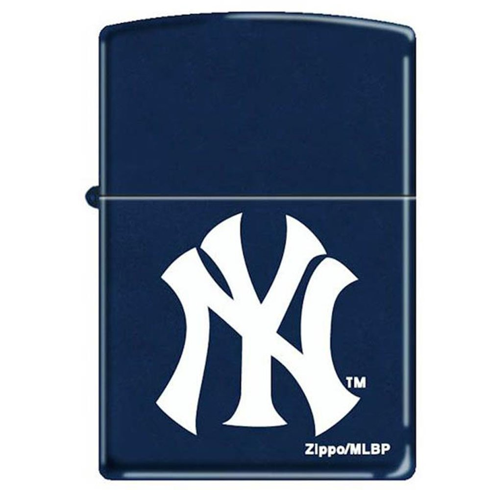 Amazon Zippo New York Yankees Logo Navy Blue Matte Lighter