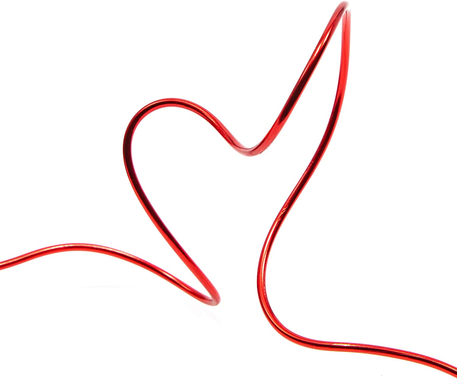 101 Feet Red Bright Creations Aluminum Wire for DIY Crafts 12 Gauge