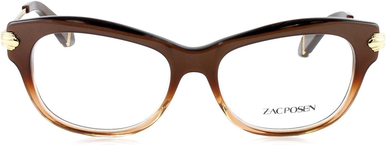 Zac Posen LISA Brown Eyeglasses Size51-15-130.00